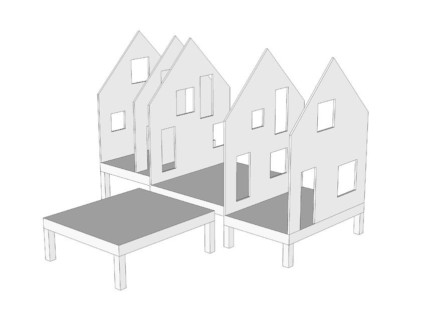Lode architecture - Maison G - Axonométrie