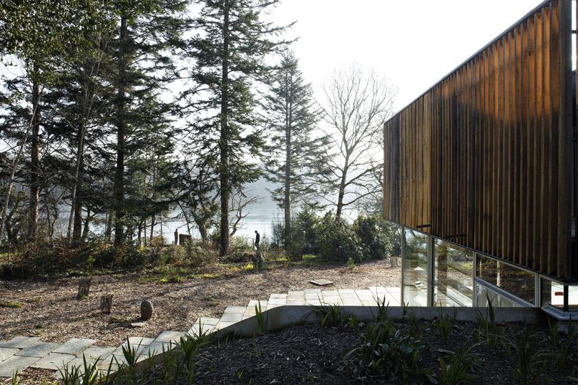 Lode architecture - Maison D - Face au paysage marin