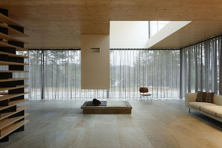 Lode architecture - Séjour de la Maison D