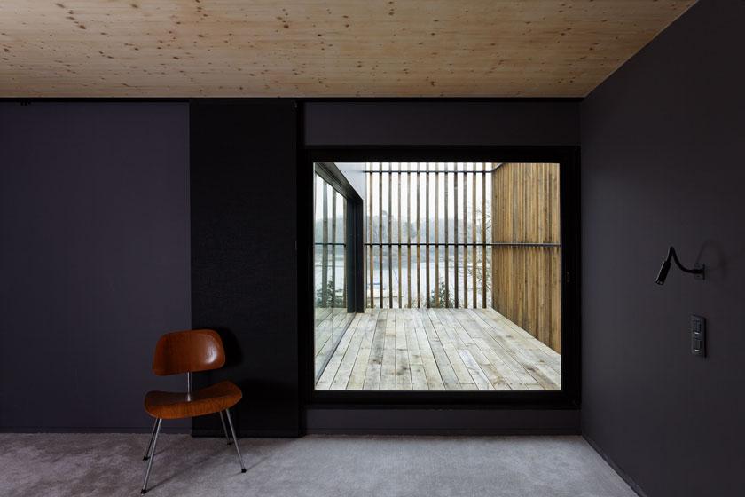 Lode architecture - Maison D - Alcôves extérieure pour espace intérieur