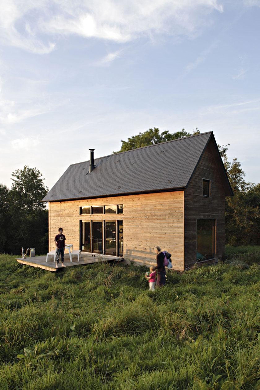 Lode architecture - Terrasse de la Maison F