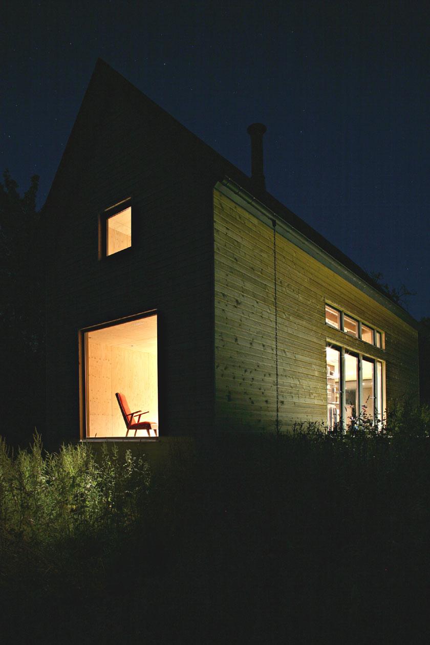 Lode architecture - Maison F - Vue de nuit