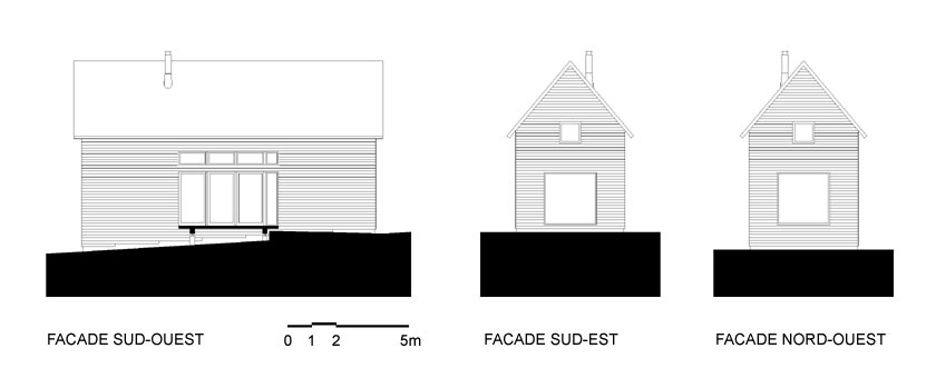 Lode architecture - Maison F - FACADES