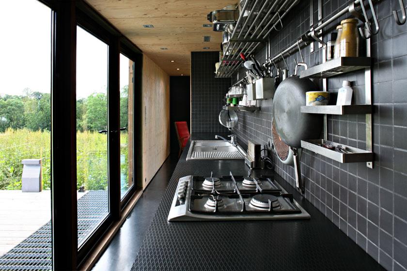 Maison F - Lode architecture - Cuisine