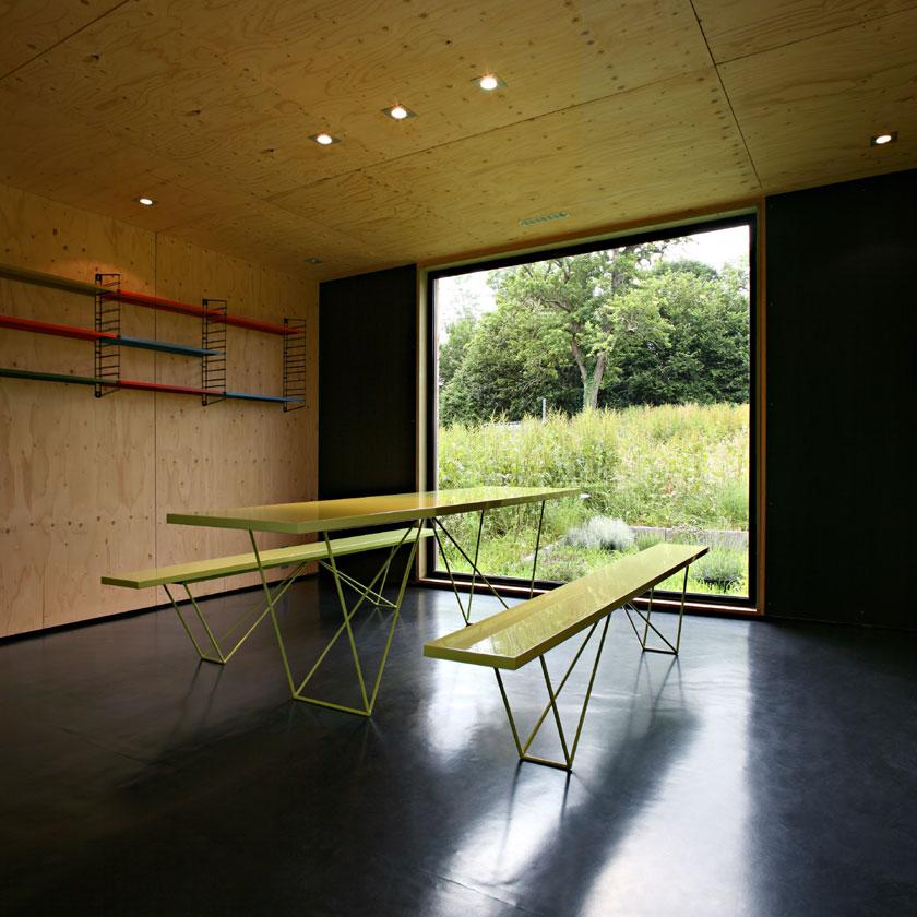 Maison F - Lode architecture - Salle à manger