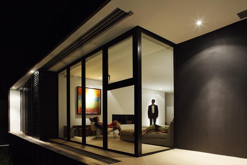 Lode architecture - Maison C - Salon de nuit