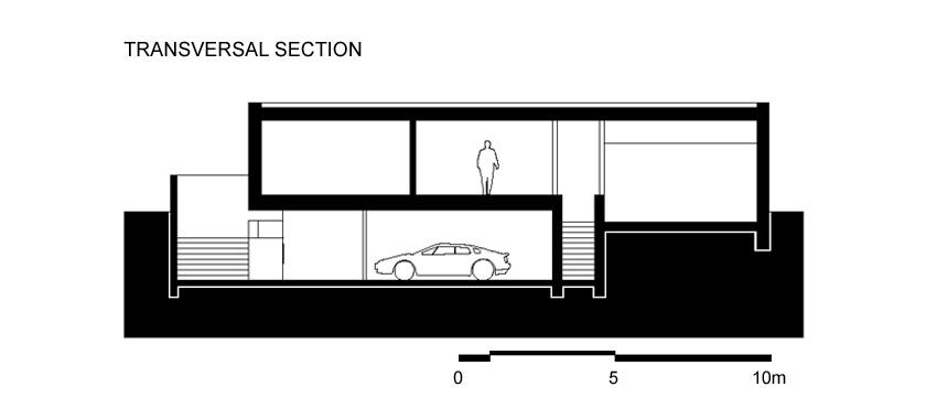 Lode architecture - MAISON C - COUPE 2