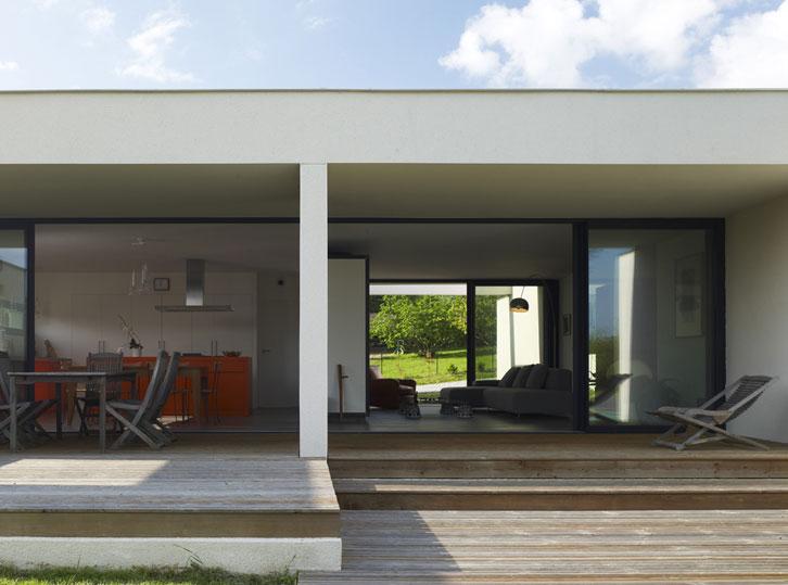 Maison C - Prax architectes - Porosité du bâti