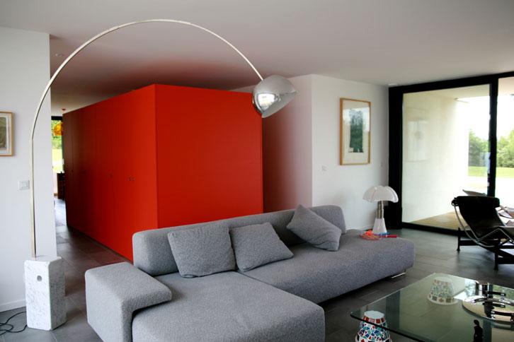 Maison C - Prax architectes - Boîtes fonctionnelles