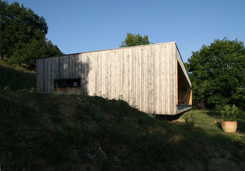 Maison P3 - Prax architectes - Vue de côté