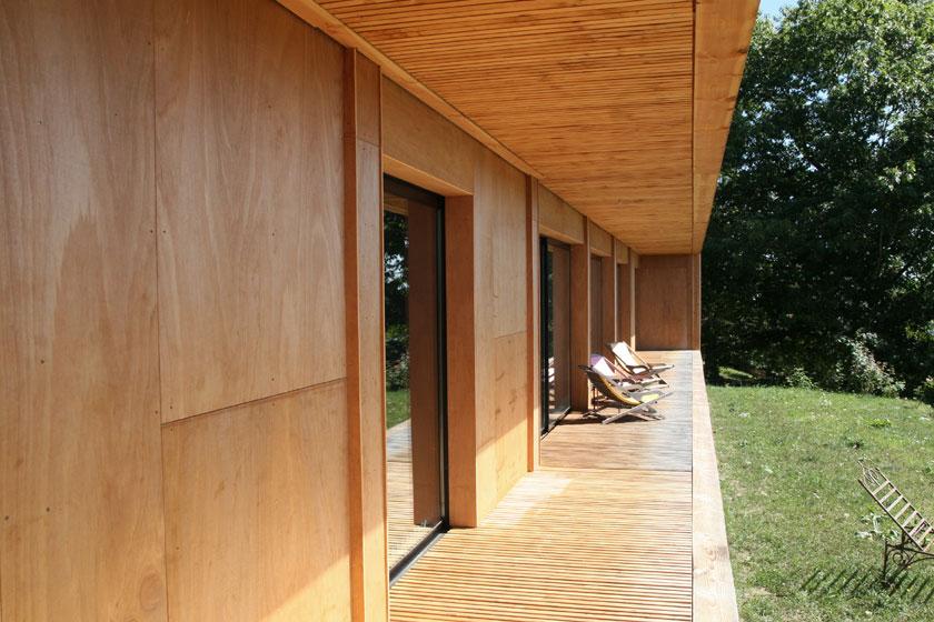 Maison P3 - Prax architectes - Terrasse