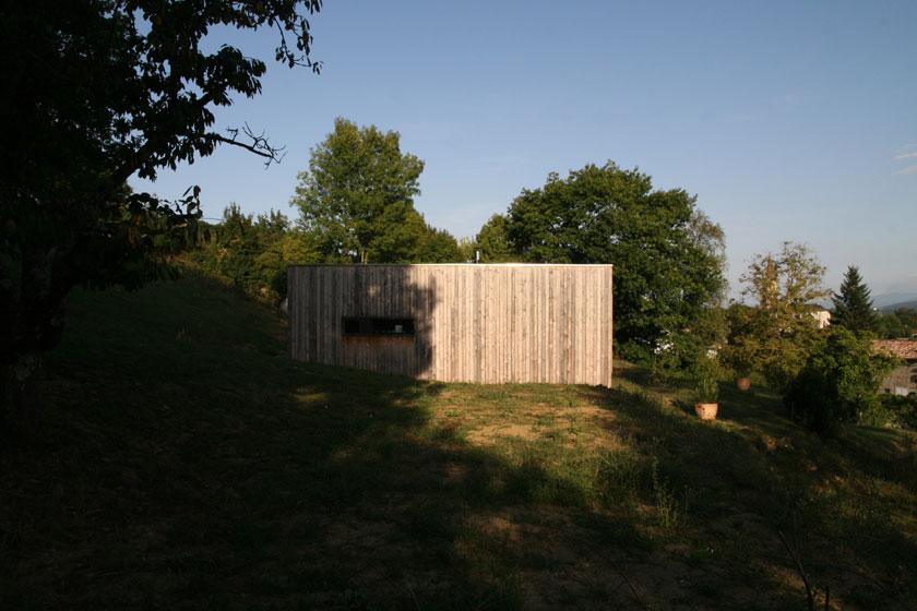 Prax architectes - Maison P3 - Pignon