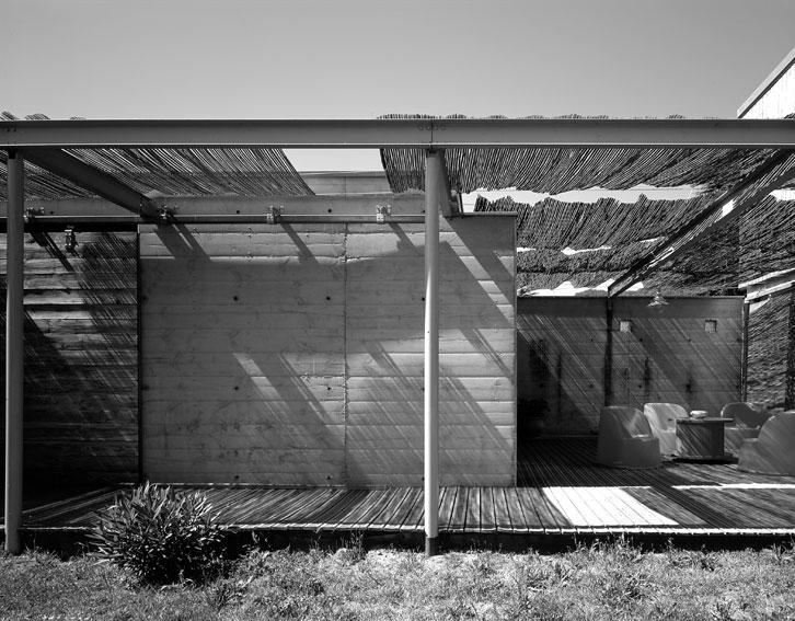 Maison P1 - Prax architectes - Atmosphère extérieure