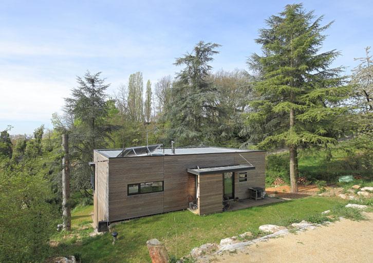 """Maison """"verte"""" - Atelier d'architecture Gilles Bertrand"""