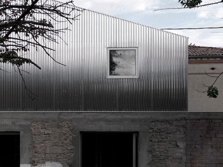 BAST - Maison M03 - Contraste des matières