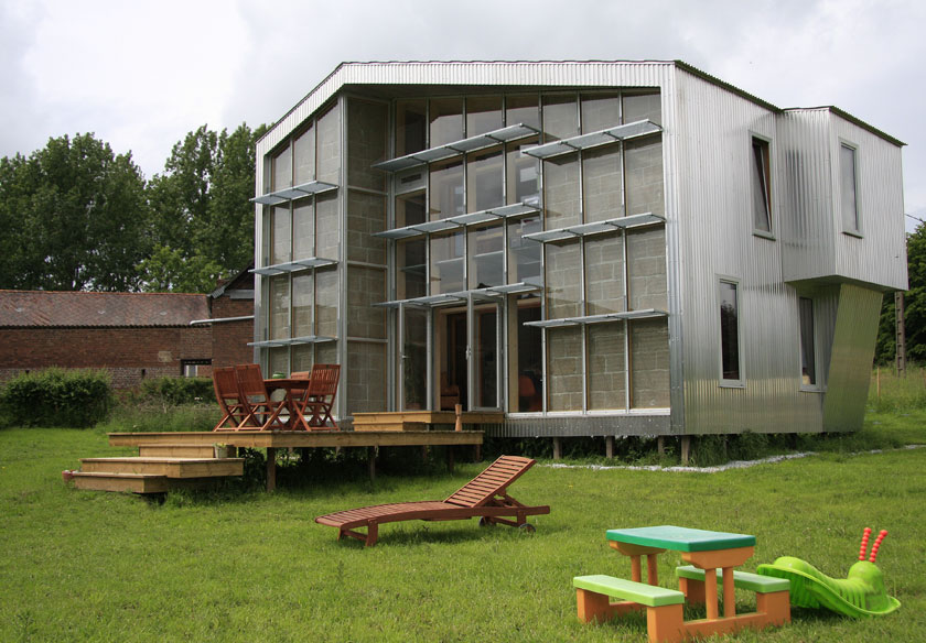 WILD architecture - Maison Coquille vue Sud