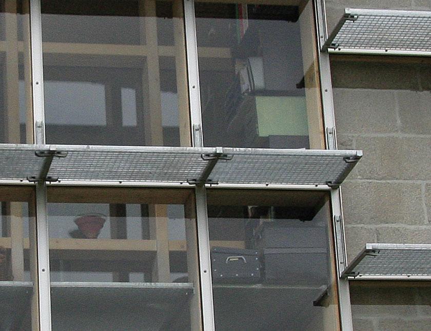 WILD architecture - Détail façade Sud Maison-Coquille