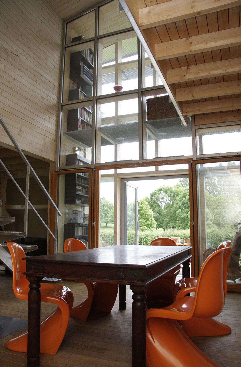 WILD architecture - Intérieure Sud Maison Coquille