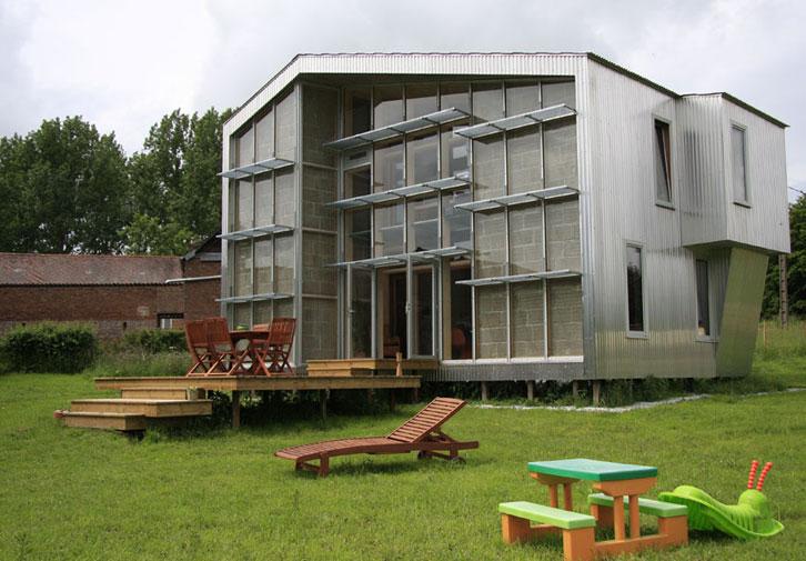 WILD architecture - Maison Coquille - Verrière