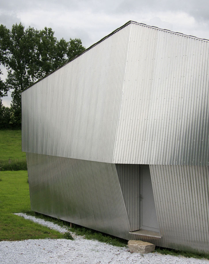WILD architecture - Maison Coquille - Bardage métallique