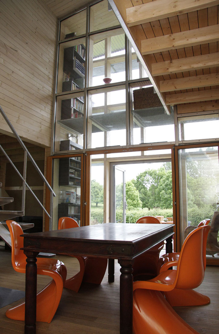 WILD architecture - Verrière/capteur solaire