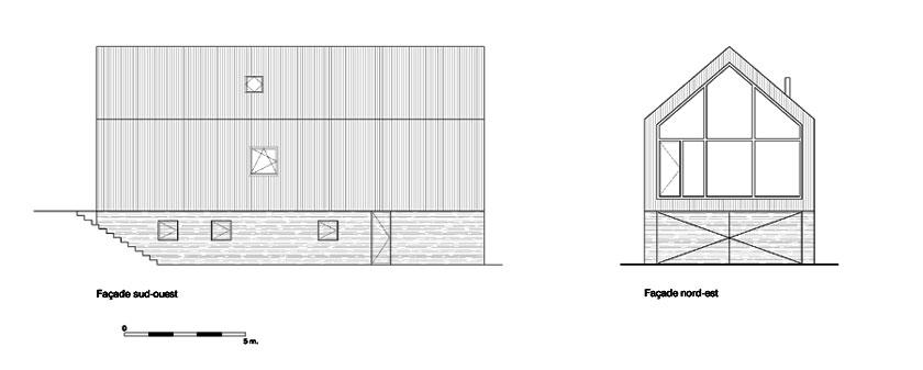 Géraud architecte - Chalet - FACADES