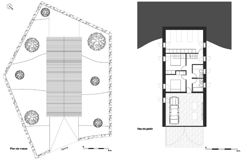 Géraud architecte - Chalet - PLANS 01