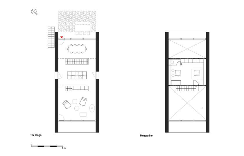 Géraud architecte - Chalet - PLANS 02