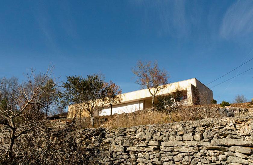 Yann Ouvrieux architecte - Maison B vue d'en bas