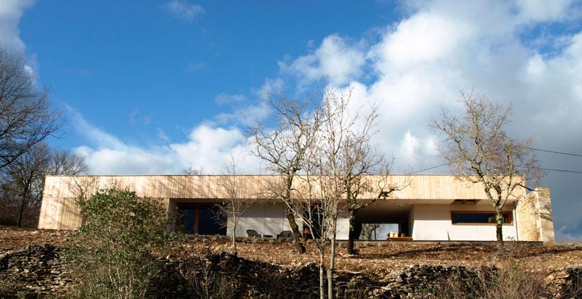 Yann Ouvrieux architecte - Maison B façade Sud