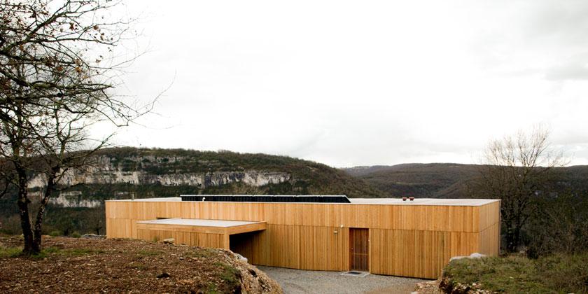 Yann Ouvrieux architecte - Arrière de la Maison B