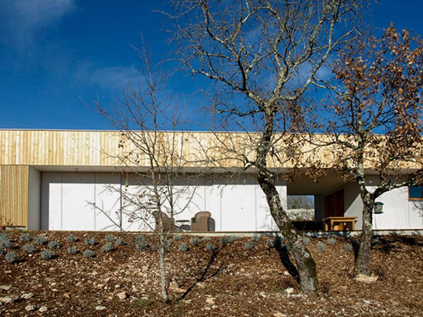 Yann Ouvrieux architecte - Maison à Marcilhac