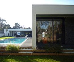 Maison moderne - BO.A Julien Campus Architecte