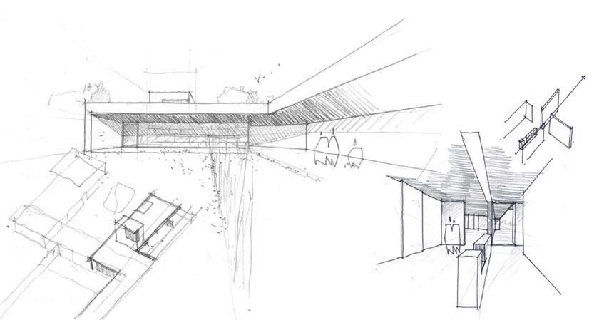 BOA architecte - Maison V - Croquis