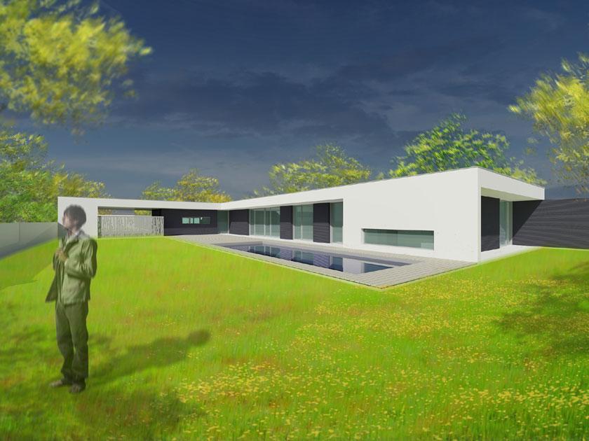 BOA architecte - Maison moderne Image 3D
