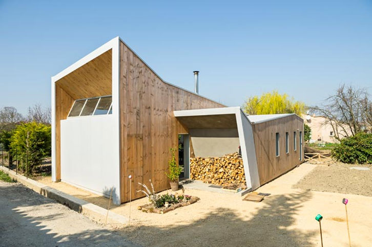 TEXUS architectes - Matthieu CORNET - Maison bois