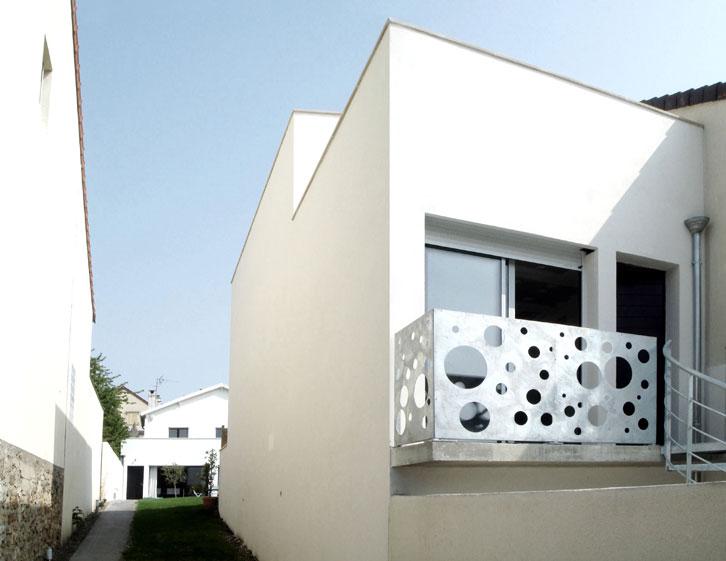 AJILE architectes - Maison tube