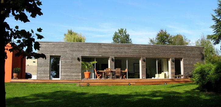 Maison bois - Brulet Stéphane architecture