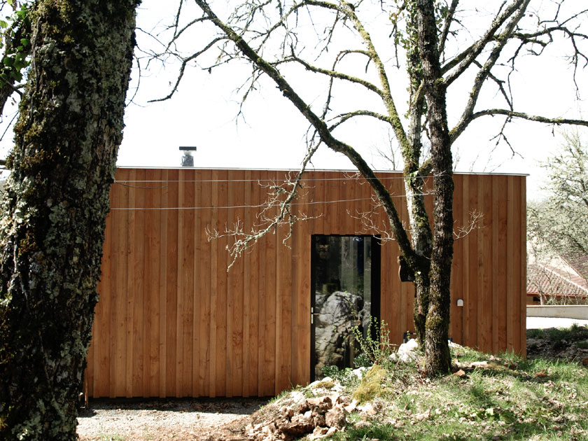 Maison P - Yann Ouvrieux architecte - Façade Est
