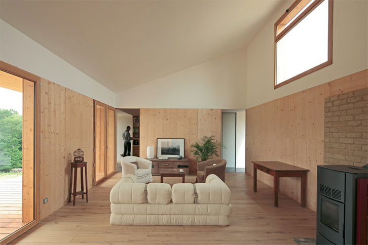 Lauréat PNCB 2014 Maisons individuelles plus de 120m² - SonNomDeVenise architecte 2