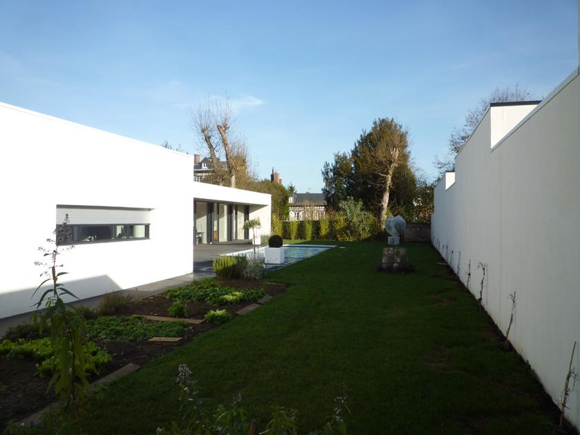 BOA - Maison M - Jardin arrière