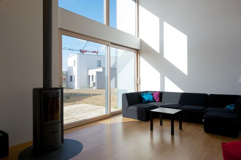 Tektolab - Maison D - Intérieur salon 02