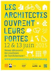 Affiche Les Architectes ouvrent leurs portes