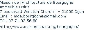 Maison de l'Architecture de Bourgogne