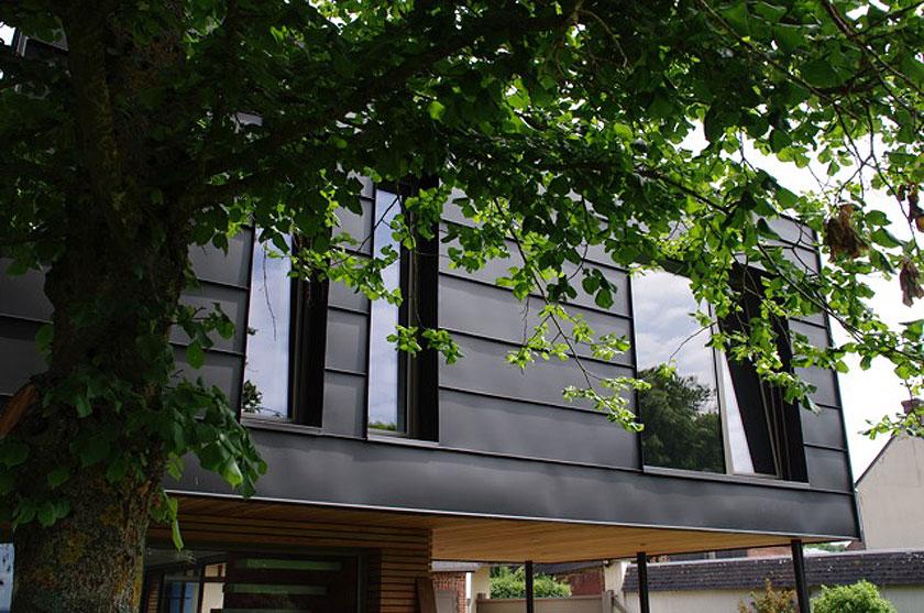 Marc Lafagne architecte - Maison à Grémévillers - Extérieur 03