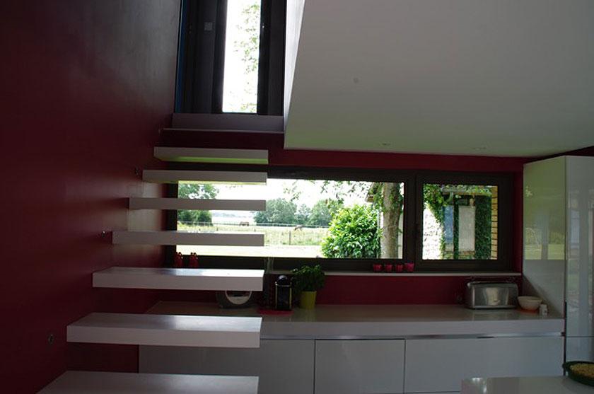 Marc Lafagne architecte - Maison à Grémévillers - Intérieur 02