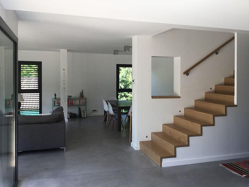 Naud-Passajon-Dejos architectes - Séjour ouvert 2