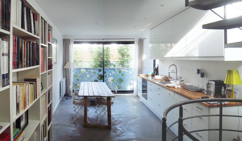 La maison contemporaine suresnes ventana blog - Maison etroite ...